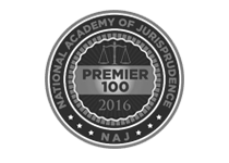 The National Academy of Jurisprudence Premier 100 Trial Attorney in New York 2016