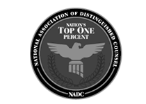 National Association of Distinguished Counsel Member of the Top One Percent